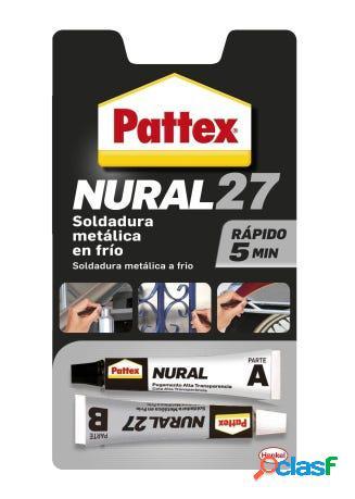 Soldadura reparadora metalica en frio rapido 22 ml nural-27 pattex
