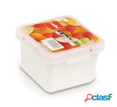 Contenedor porta alimentos hermetico 0,4lt blanco valira 6092/9