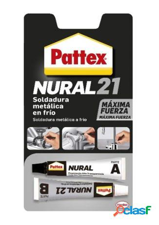 Soldadura reparadora metalica en frio 22 ml nural-21 pattex
