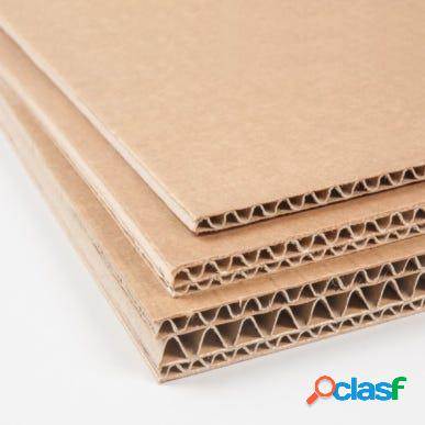 Carton nido de abeja 12mm 500x600mm blanco qm