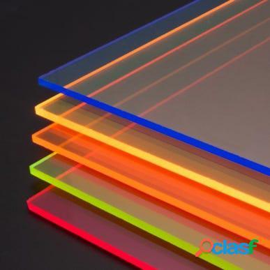 Metacrilato 3mm din a3 fluorescente naranja qm