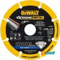 Disco corte metal 115x1,3x22,23mm extreme dewalt 1 ud dt40251-qz