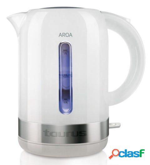 Hervidor cocina agua 2200w 1,7lt aroa taurus