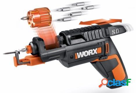 Atornillador bateria 4v li 1,5ah 1,5hsd worx 122212