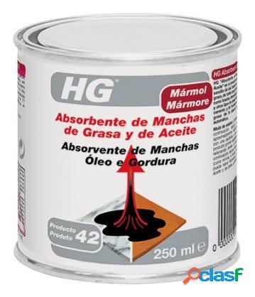 Absorbe manchas grasa/aceite hormigon-piedra 250 ml hg