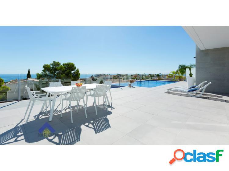 Luxe-villa met zeezicht in cumbre del sol