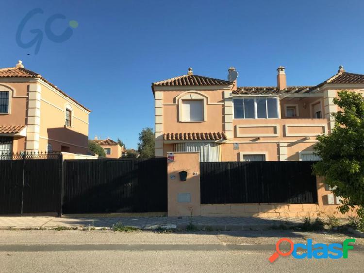 Gc pone a su disposicion a la venta una vivienda unifamiliar pareada, ubicada en el municipio de espartinas, provincia de sevilla.