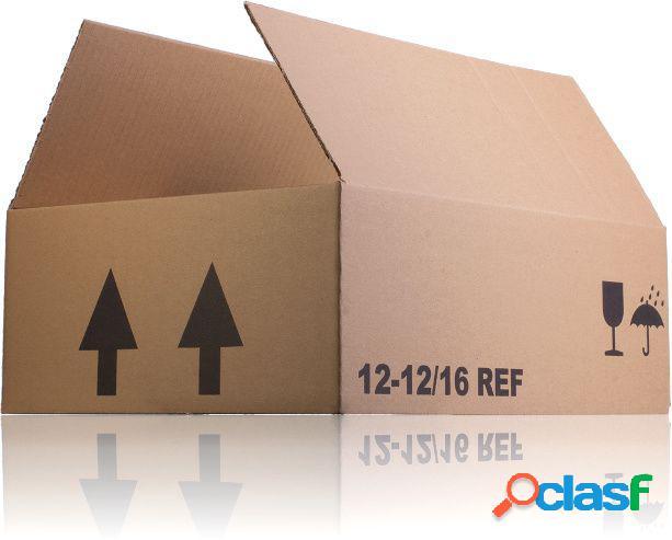 Caja de cartón tarro 16 ref 323 x 243 x 115 mm