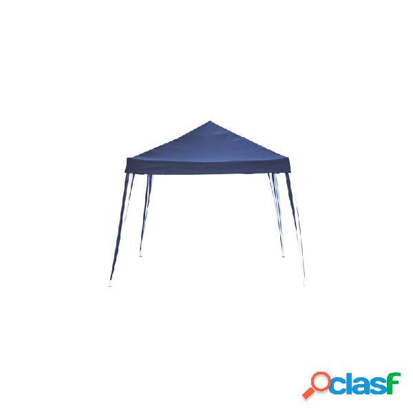 Carpa plegable metalica 3 x 3 drako azul