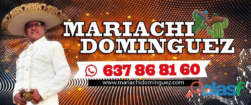 """""""Mariachi Dominguez"""" Voz y Sentimiento 637 868 160"""
