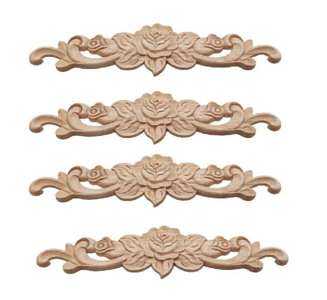 Adornos madera natural