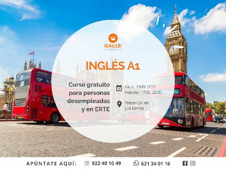 Curso gratuito inglés a1