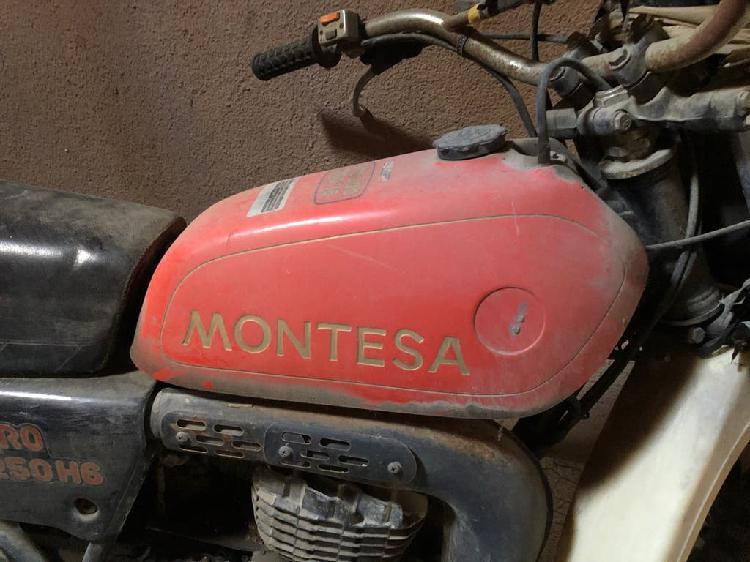 Enduro 250cc h6 para restaurar