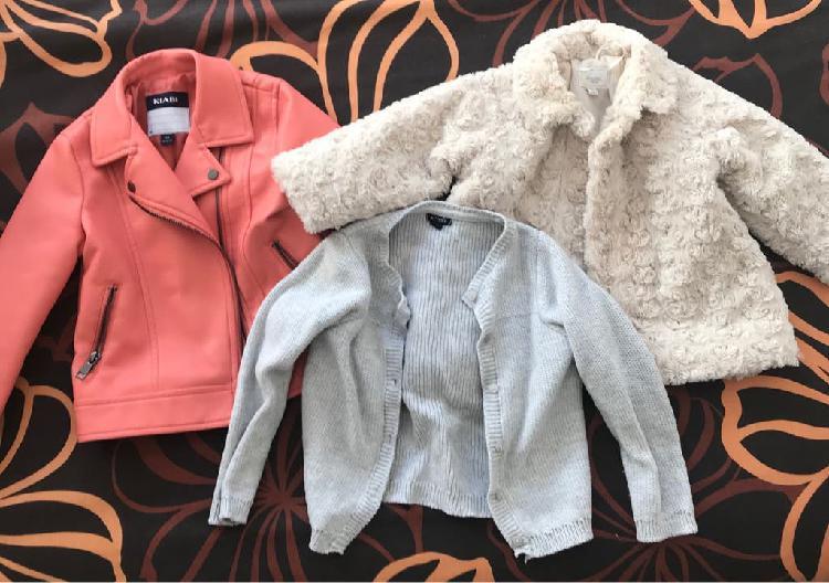 Lote abrigo, chaqueta y cazadora