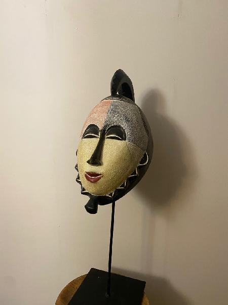 Máscara africana madera