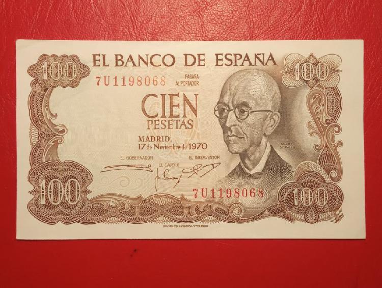 S/c. 1970. billete 100 pesetas.