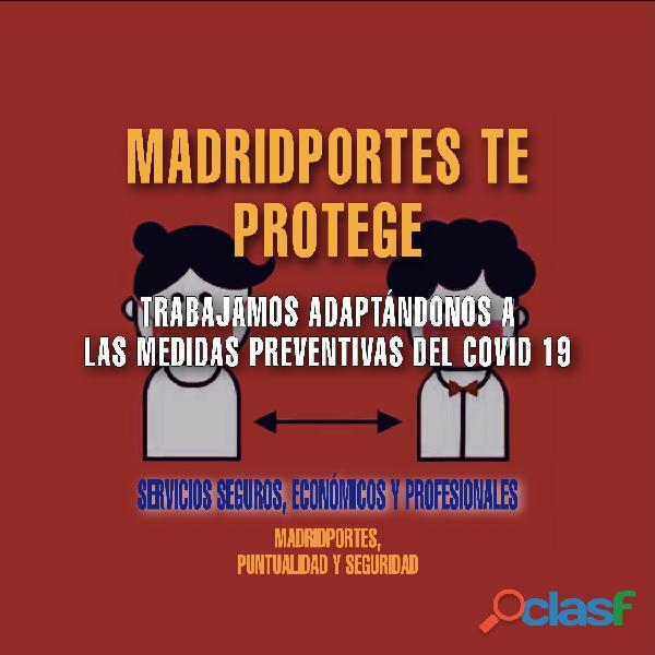 Portes urgentes Madrid central