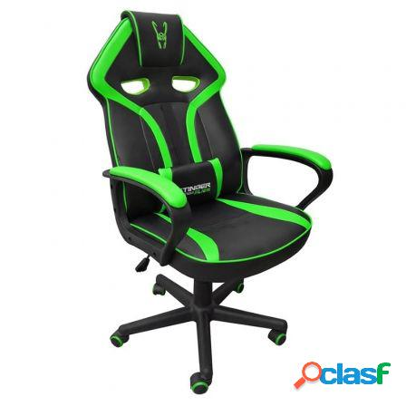 Silla gamer woxter stinger station alien green - piston clase 4 - eje