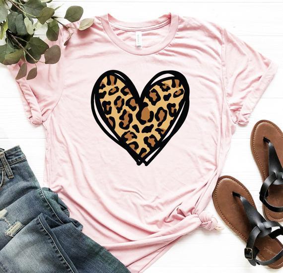 Camisa del día de san valentín, camisa del corazón del