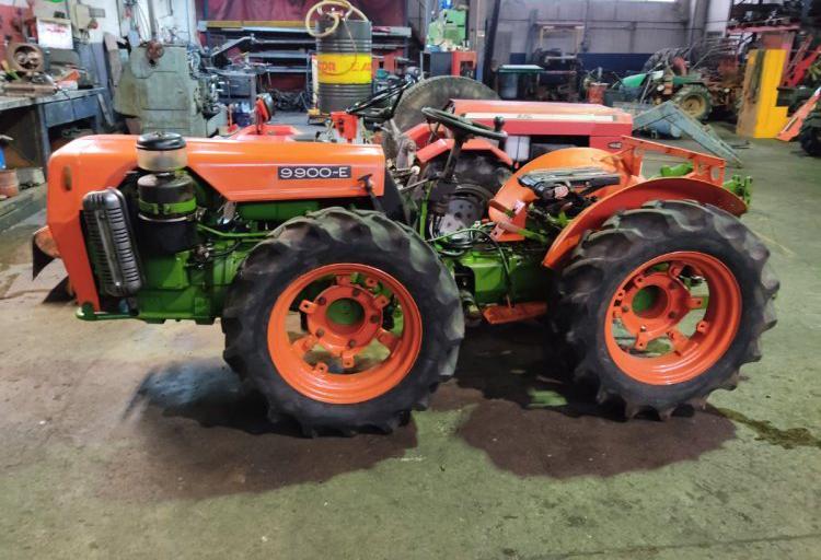 Venta de tractor agria 9900 en navarra