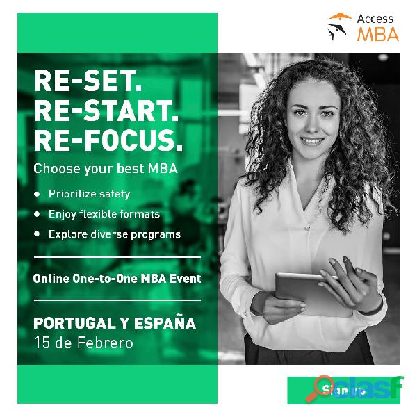 Evento online Access MBA en España y Portugal