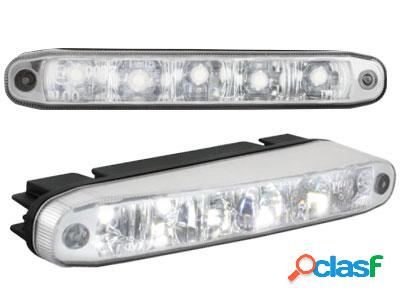 Luces Diurnas 5 Hipower Led Lxhxt 160x26x48mm (2 Pc