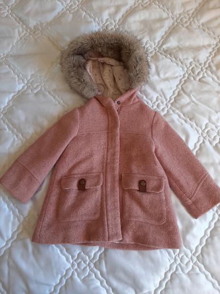 Abrigo niña zara talla 3 - 4 años