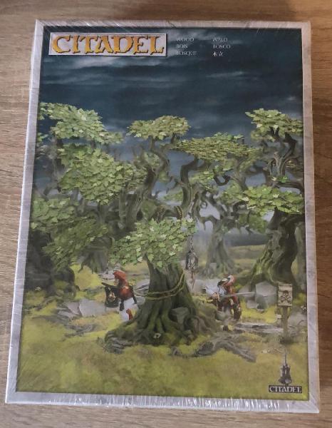 Bosque citadel -escenografía fantasy age of sigmar