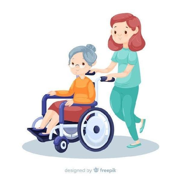 Busco empleo de cuidado de personas mayores
