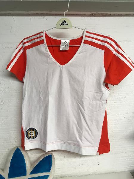 Camiseta adidas mujer t. 38 algodon