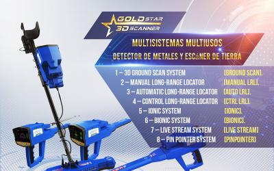 Gold star 3d scanner - la mejor solución para el cazador de