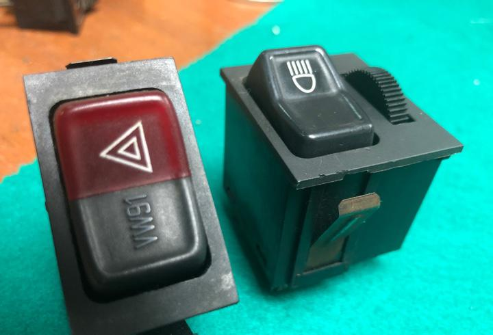 Interruptores usados (seat- volkswagen)