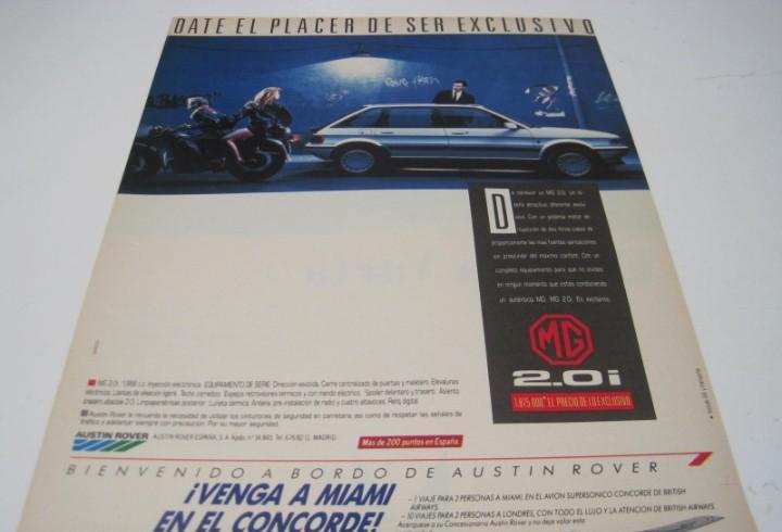 Mg maestro 2.0i: anuncio publicidad 1988