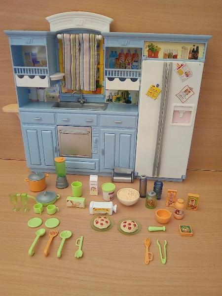 Mueble de cocina barbie