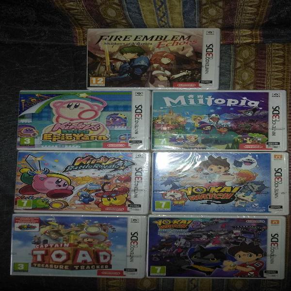 Pack de juegos de Nintendo 3DS