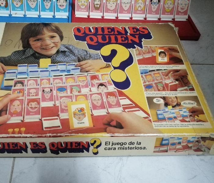 Quien es quien? mb juegos 1982. el original