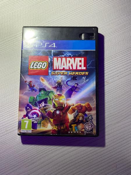 Vídeojuego lego marvel superheroes play 4