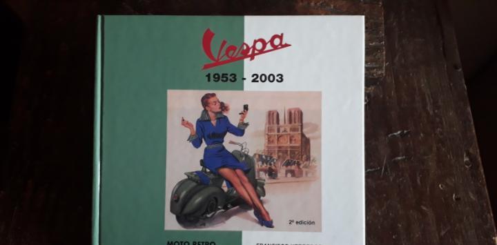 Vespa, libro de colección.
