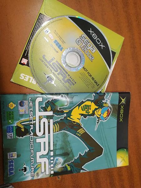 Xbox - bundle jet set radio future + sega gt2002