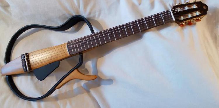 Yamaha silent guitar slg110n como nueva (previo y dsp)