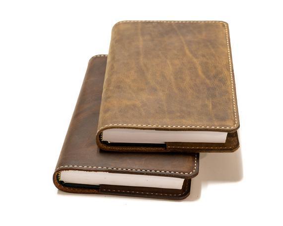 Cubierta bíblica de cuero personalizada, cubierta de la