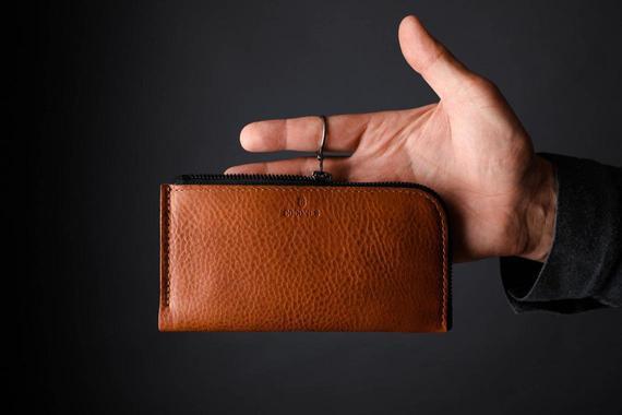 Nuevo iphone 12 pro iphone 12 pro max cuero zip wallet case,