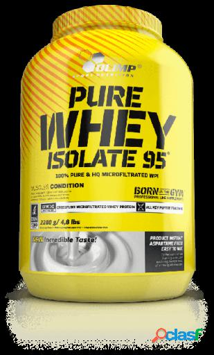 Olimp nutrition pure whey isolate 95 1,8 2200 gr crema de cacahuete