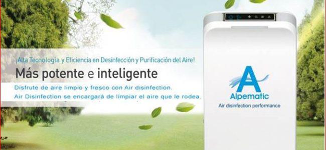 Disfrute de aire limpio y fresco con air disinfection