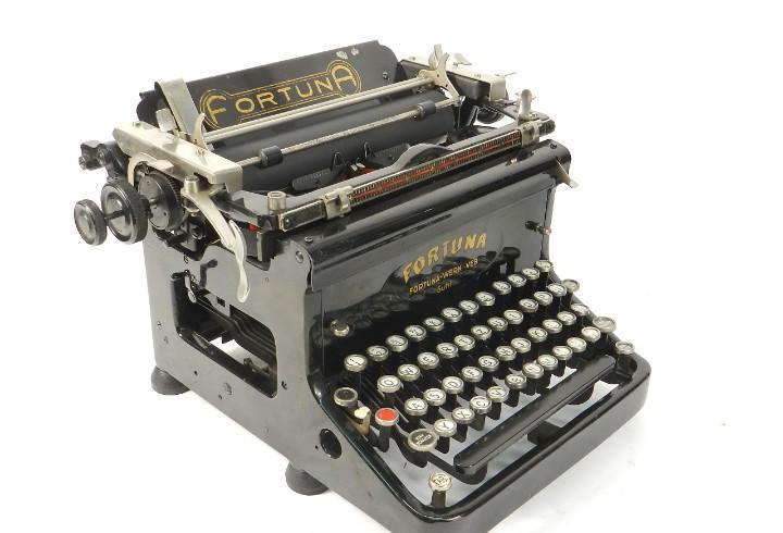 Maquina de escribir fortuna año 1925 typewriter