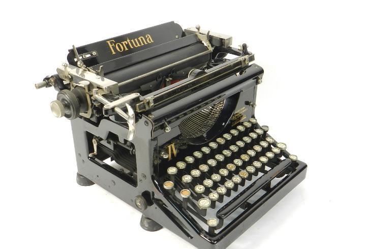 Maquina de escribir fortuna iv año 1928 typewriter
