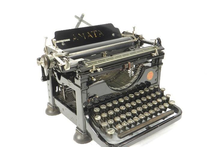 Rara maquina de escribir amata año 1923 austria typewriter