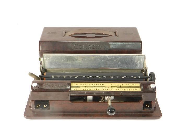 Rara maquina de escribir carissima año 1934 typewriter