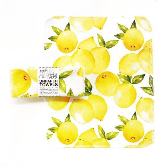 Unpaper® towels. limones vintage. elija la cantidad en el