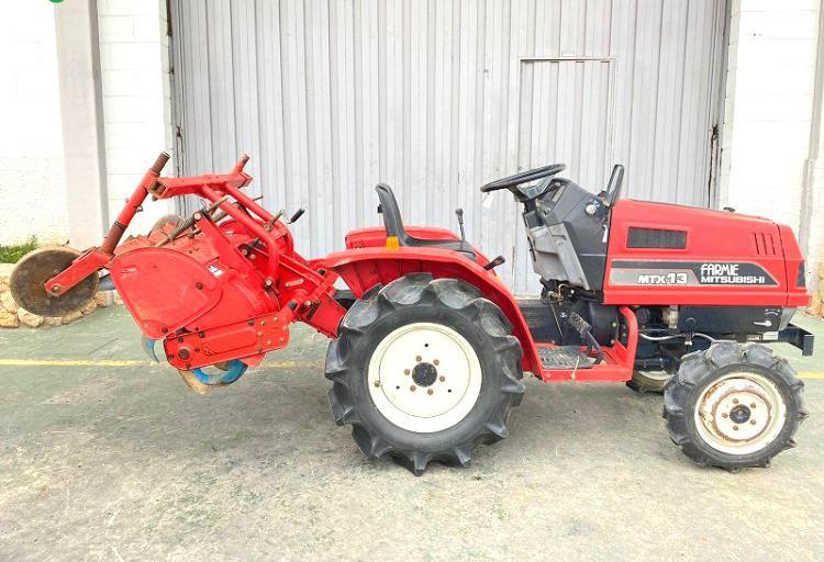 Venta de mini tractor mitsubishi mtx13d en valencia